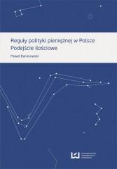 Reguły polityki pieniężnej w Polsce