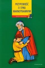 Przypowieść o synu marnotrawnym Kolorowanka
