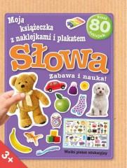 Moja książeczka z naklejkami i plakatem - Słowa
