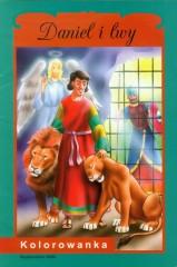Daniel i lwy Kolorowanka