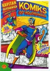 Kapitan błyskawica i znikające statki Komiks do kolorowania