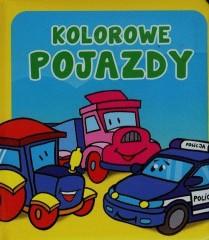 Kolorowe pojazdy Pianki