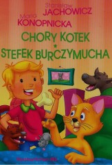 Stefek Burczymucha Chory kotek