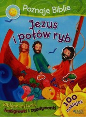 Poznaję Biblię Jezus i połów ryb 100 naklejek