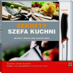 Sekrety szefa kuchni + nóż do pomidorów Fiskars