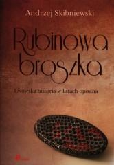 Rubinowa Broszka