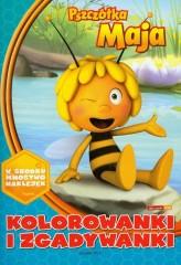 Pszczółka Maja Kolorowanki i zgadywanki