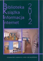 Biblioteka książka informacja Internet 2012