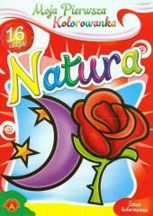 Moja pierwsza kolorowanka Natura