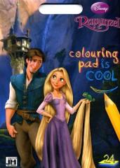 Roszpunka Coloring pad