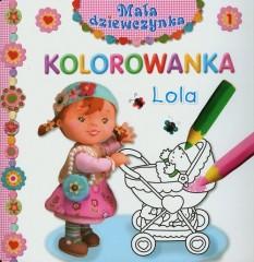 Lola Mała dziewczynka Kolorowanka