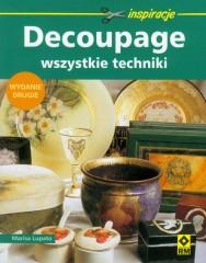 Decoupage Wszystkie techniki