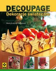 Decoupage Dekoracje świąteczne