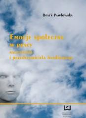 Emocje społeczne w pracy nauczyciela i przedstawiciela handlowego