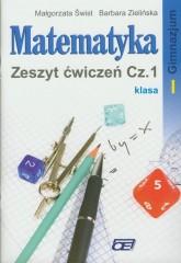 Matematyka 1 Zeszyt ćwiczeń część 1