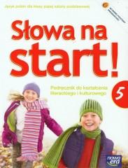 Słowa na start 5 podręcznik do kształcenia literackiego i kulturowego z płytą CD + dodatek wakacyjny