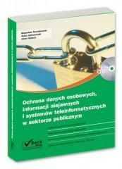 Ochrona danych osobowych, informacji niejawnych i systemów teleinformatycznych w sektorze publicznym z płytą CD