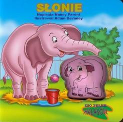Słonie ZOO pełne hałasów