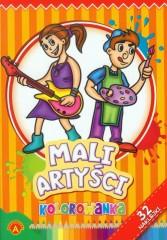 Kolorowanka Mali artyści