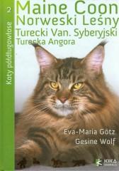Koty półdługowłose Maine Coon Norweski Leśny Turecki Van Syberyjski Turecka Angora