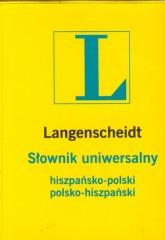 Słownik uniwersalny hiszpańsko-polski, polsko-hiszpański