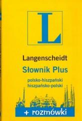 Słownik Plus polsko-hiszpański hiszpansko-polski + rozmówki