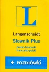 Słownik PLUS rozmówki polsko - francuski francusko - polski