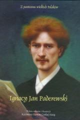 Ignacy Jan Paderewski z płytą CD