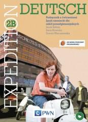 Expedition Deutsch 2B Podręcznik z ćwiczeniami + CD