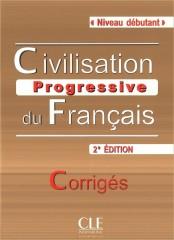 Civilisation progressive du français Niveau debutant Klucz 2. edycja