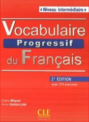 Vocabulaire progressif du français Niveau intermédiaire Książka + CD 2. edycja