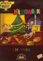 Kolorowanka Choinka