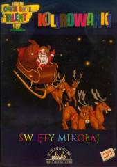 Kolorowanka Święty Mikołaj