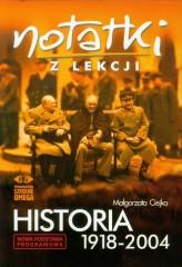 Notatki z lekcji Historia 1918-2004