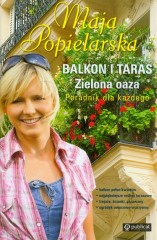 Balkon i taras Zielona oaza