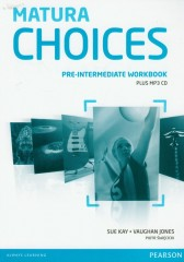 Matura Choices Pre-Intermediate Workbook with MP3 CD