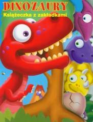 Książeczka z zakładkami Dinozaury
