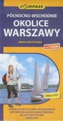 Północno wschodnie okolice Warszawy mapa turystyczna 1:50 000