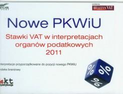 Nowe PKWiU Stawki vat w interpretacjach organów podatkowych 2011