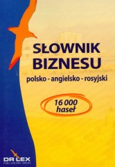 Słownik biznesu polsko angielsko rosyjski