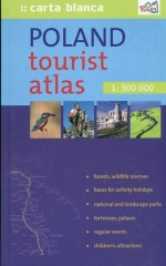 Poland Tourist Atlas 1:300 000
