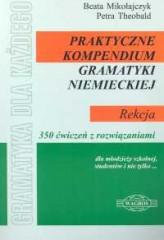 Praktyczne kompendium gramatyki niemieckiej Rekcja