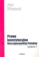 Prawo konstytucyjne Rzeczypospolitej Polskiej