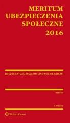 Meritum Ubezpieczenia społeczne 2016
