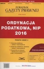 Ordynacja podatkowa, NIP 2016