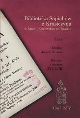 Biblioteka Sapiehów z Krasiczyna w Zamku Królewskim na Wawelu