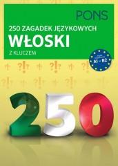250 zagadek językowych włoski z kluczem