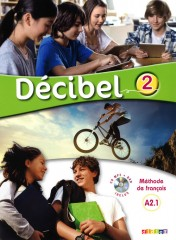 Décibel 2 niv.A2.1-Podręcznik+CD+DVD