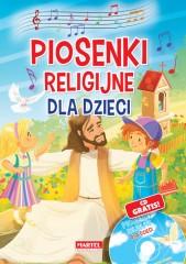 Piosenki religijne dla dzieci Książka z płytą CD