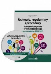 Uchwały regulaminy i procedury + CD